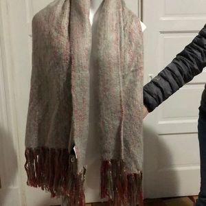 Cynhia rowley blanket scarf